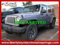Used 2015 Jeep Wrangler Unlimited Rubicon 4WD Rubicon For Sale in Colorado Springs, CO