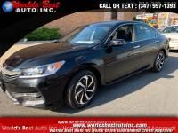 2017 HondaAccord Sedan EX-L CVT