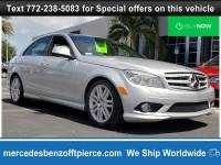 Pre-Owned 2008 Mercedes-Benz C-Class Luxury Sedan in Jacksonville FL