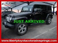Used 2017 Jeep Wrangler Unlimited Sahara Sahara 4x4 For Sale in Colorado Springs, CO