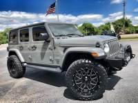 Used 2018 Jeep All-New Wrangler Unlimited STINGRAY SAHARA LIFTED LEATHER NAV ALPINE