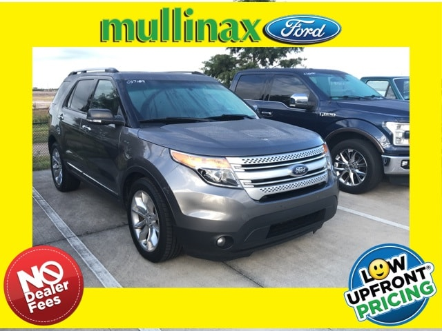 Photo Used 2013 Ford Explorer XLT Loaded W Dual Panel Moonroof, 2ND ROW Bucket SUV V-6 cyl in Kissimmee, FL