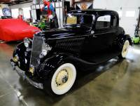 1934 Ford Deluxe 5 Window Coupe $66,900