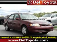 Used 1998 Toyota Corolla LE For Sale in Thorndale, PA | Near West Chester, Malvern, Coatesville, & Downingtown, PA | VIN: 2T1BR18E1WC014282