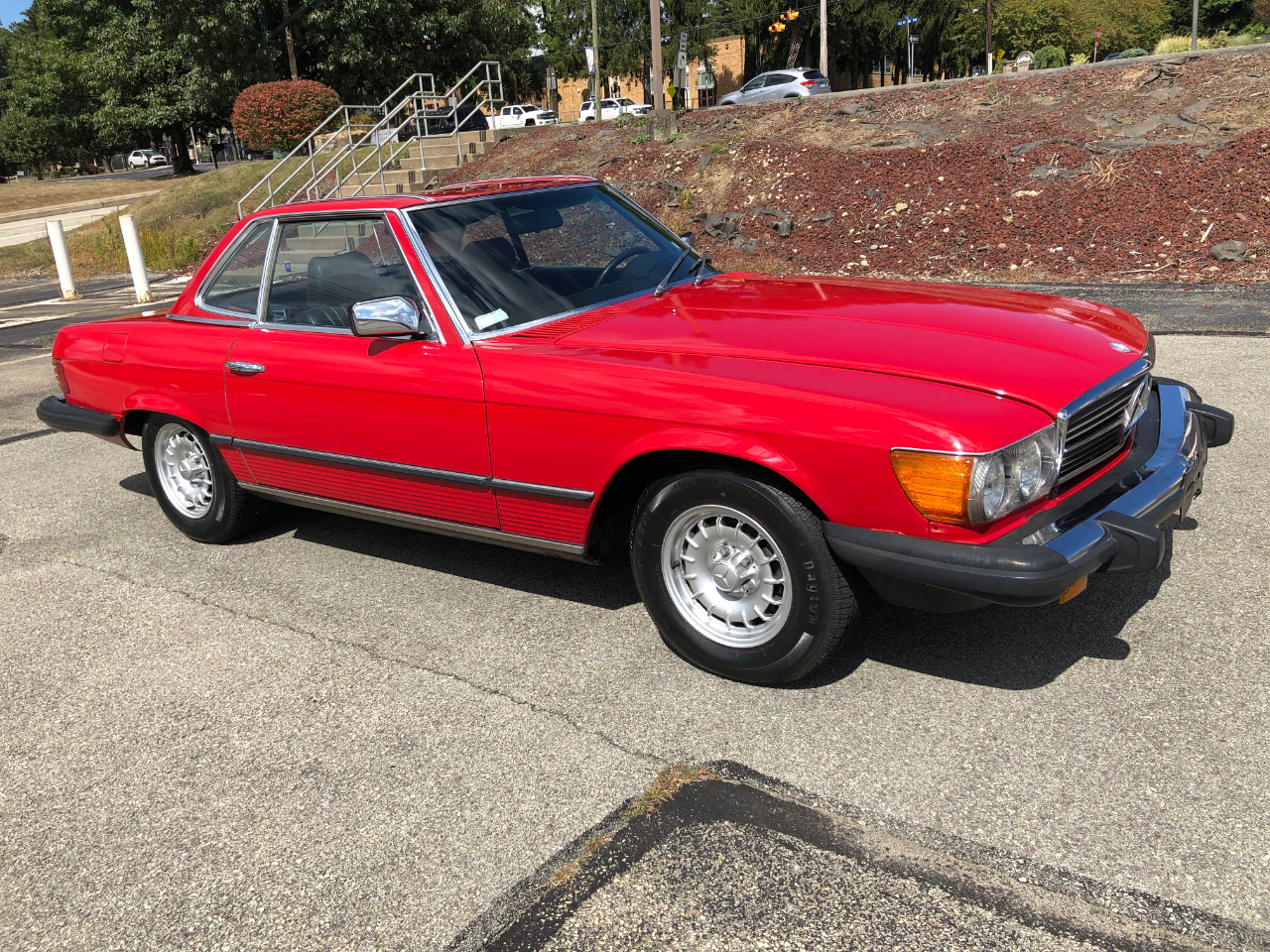 Photo 1984 Mercedes-Benz 380-Class 380SL