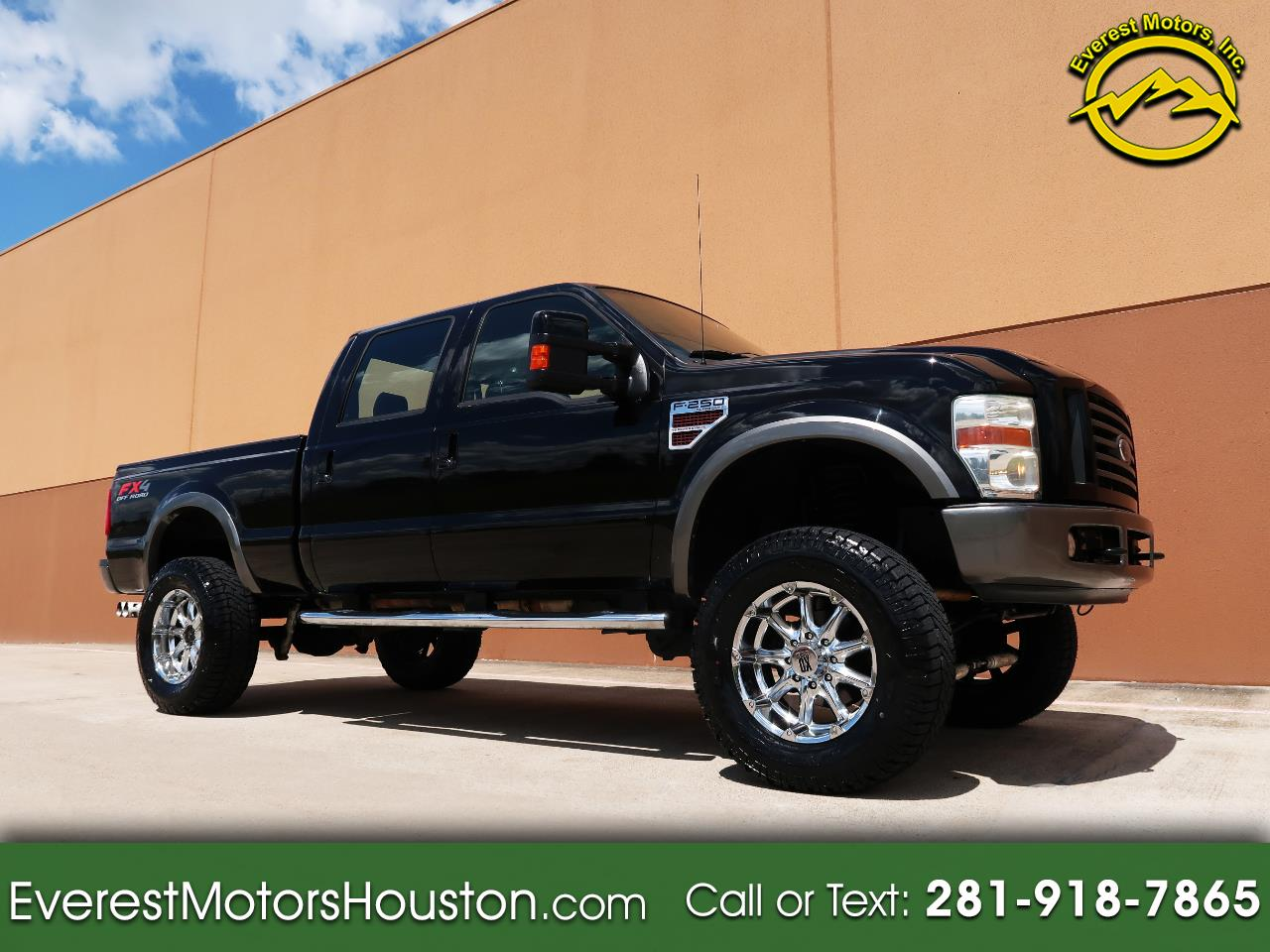 Photo 2008 Ford F-250 SD FX4 CREW CAB SHORT BED 4WD DIESEL LIFTED