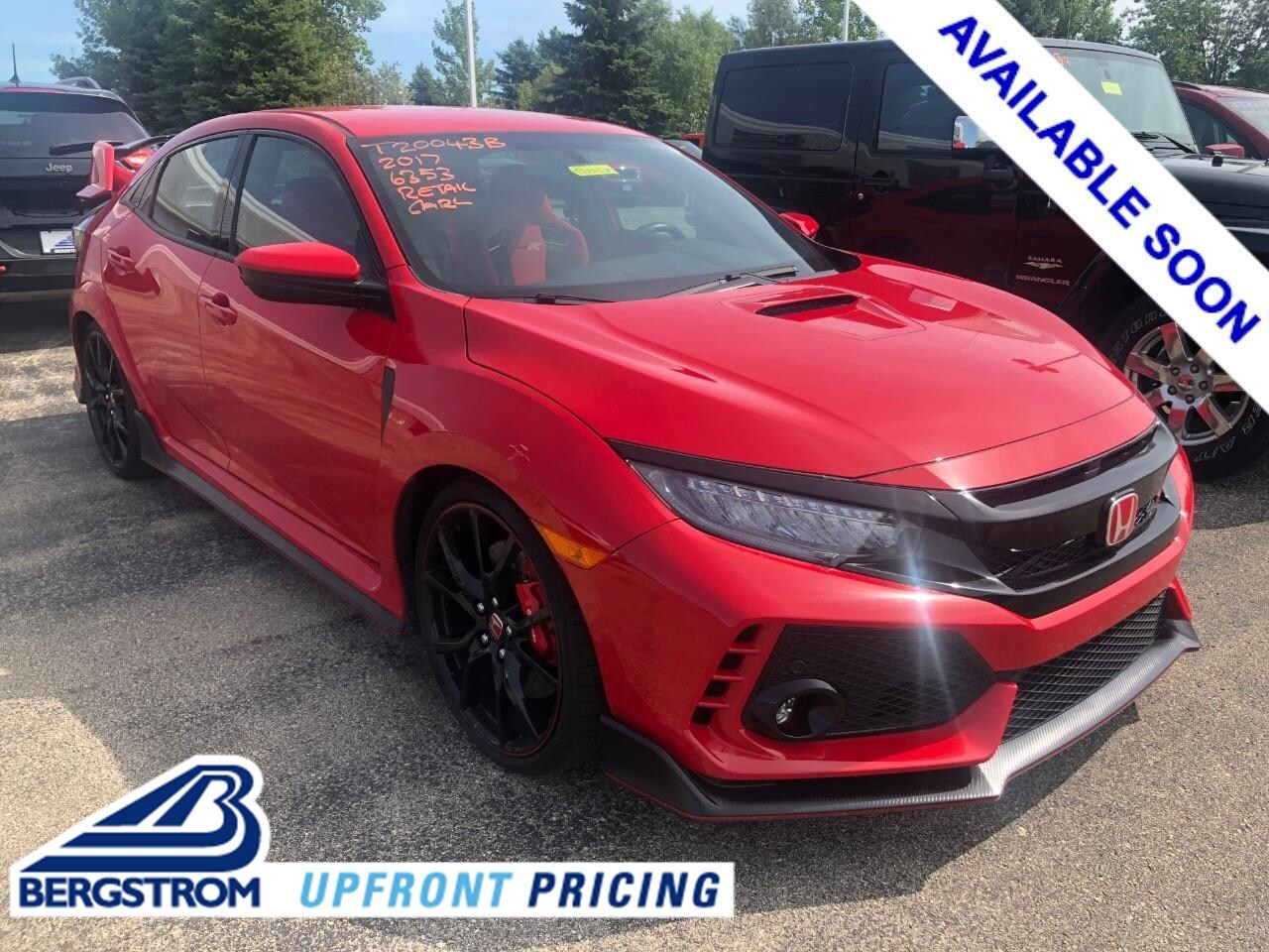 Photo Used 2017 Honda Civic Type R Touring Manual For Sale in Oshkosh, WI