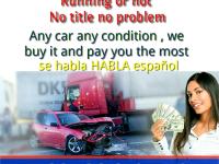 We buy junk cars