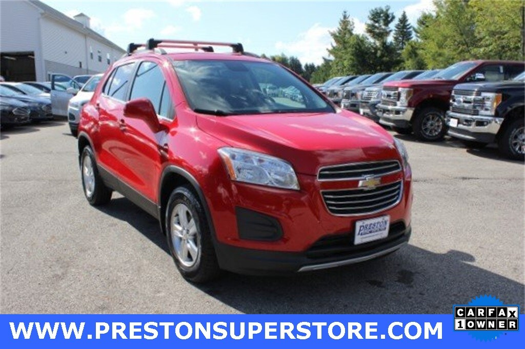 Photo Certified Used 2016 Chevrolet Trax LT SUV in Burton, OH