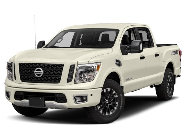 Photo Pre-Owned 2018 Nissan Titan PRO-4X Truck Crew Cab in Jacksonville FL