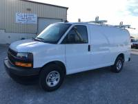 2018 Chevrolet Express 2500 Cargo w/ Ladder Rack * Bins 6.0L