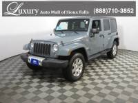 Pre-Owned 2014 Jeep Wrangler Unlimited Sahara SUV for Sale in Sioux Falls near Brookings