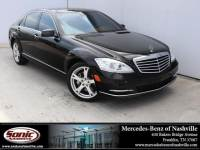 Pre-Owned 2013 Mercedes-Benz S-Class S 550 4MATIC Sedan