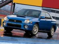 2002 Used Subaru Impreza 4dr Sdn WRX Auto For Sale in Moline IL | Serving Quad Cities, Davenport, Rock Island or Bettendorf | S2082A