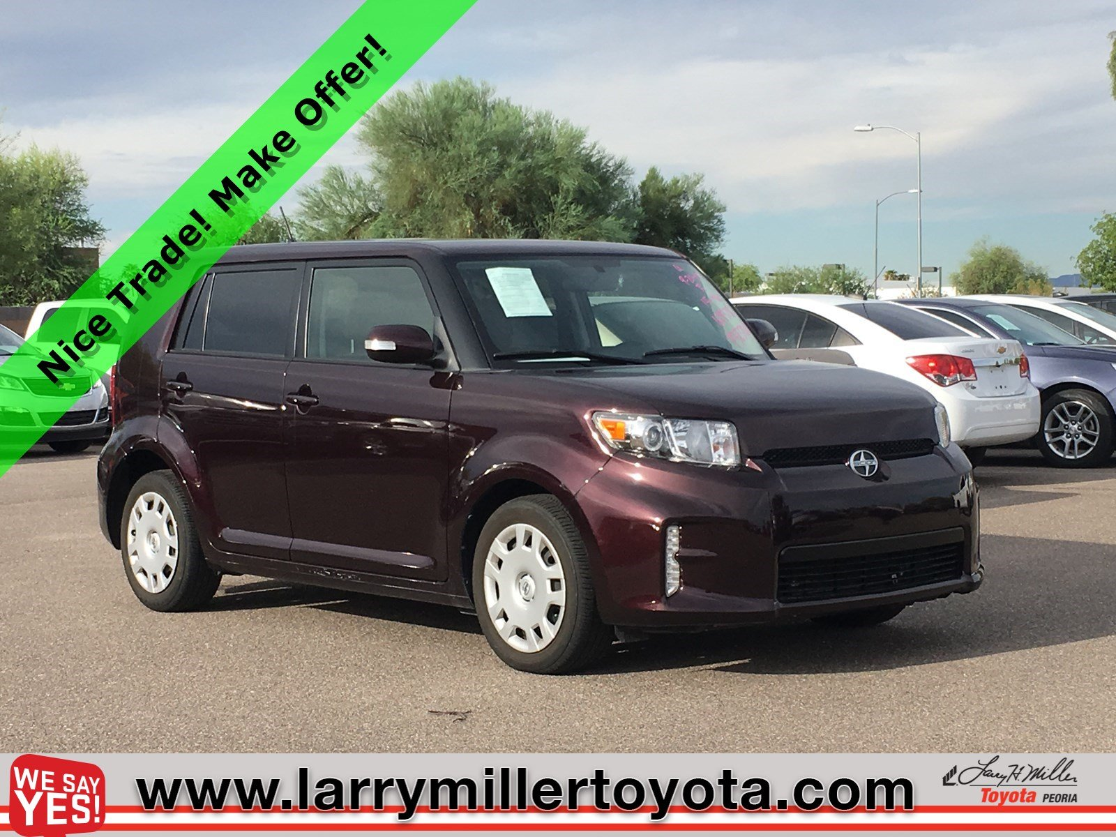 Photo Used 2015 Scion xB For Sale  Peoria AZ  Call 602-910-4763 on Stock P32370A