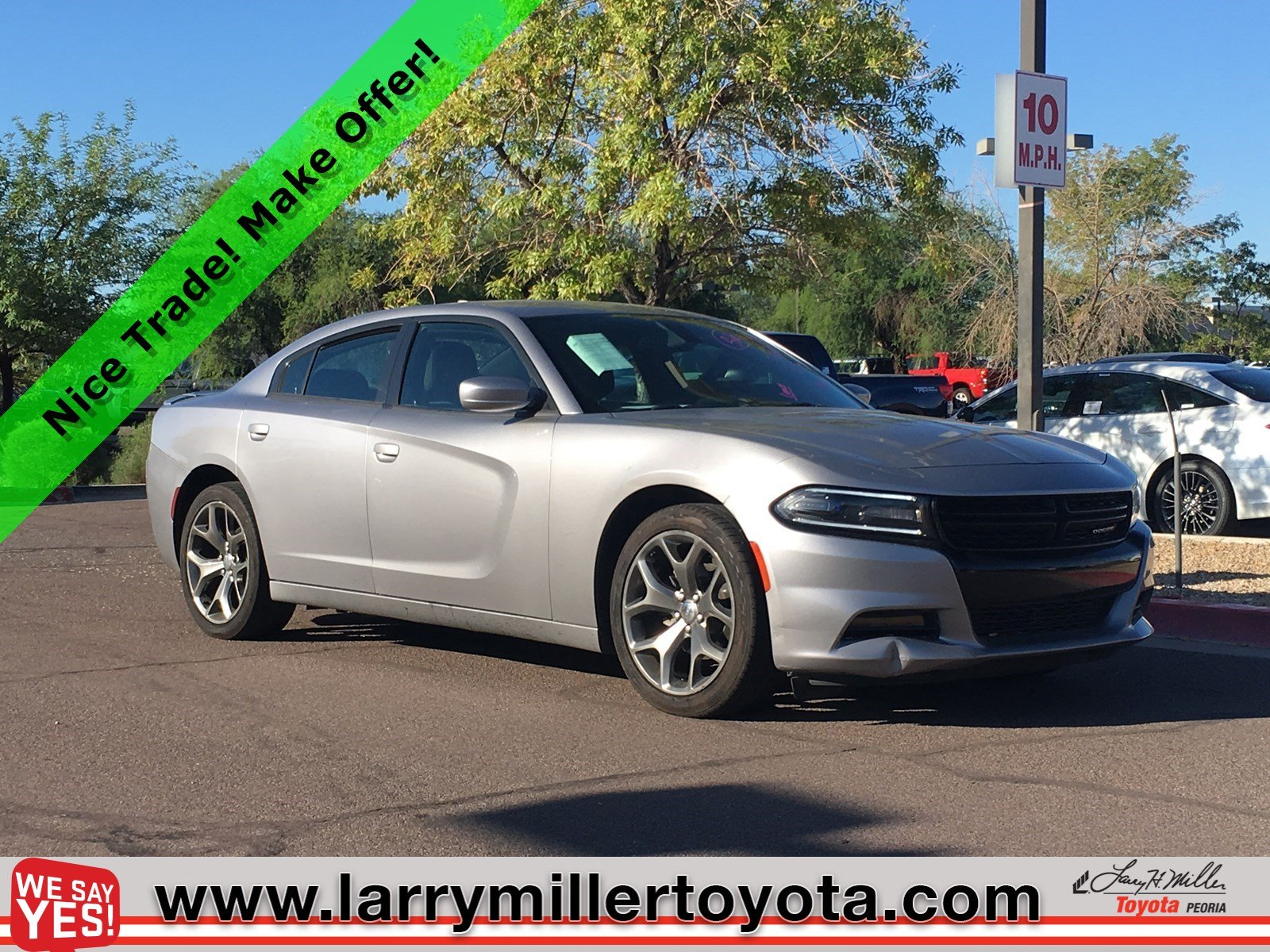 Photo Used 2015 Dodge Charger For Sale  Peoria AZ  Call 602-910-4763 on Stock 91835C