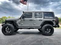 Used 2019 Jeep Wrangler Unlimited CUSTOM LIFTED LEATHER HARDTOP FUEL DV8 OCD