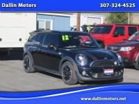 2012 MINI Cooper Clubman 2dr Cpe S