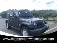 Pre-Owned 2016 Jeep Wrangler JK Unlimited Sport 4X4 in Midlothian VA