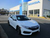 Certified 2016 Honda Civic LX-P Coupe