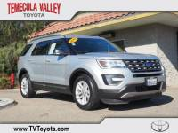 2016 Ford Explorer XLT SUV Front-wheel Drive in Temecula