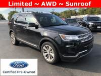 Certified Used 2019 Ford Explorer Limited SUV in Burton, OH