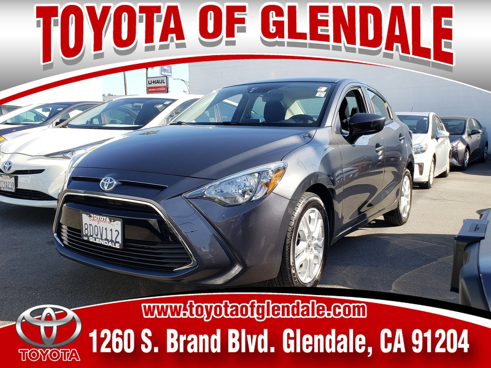 Photo Used 2018 Toyota Yaris iA STD For Sale  Glendale CA  Serving Los Angeles  3MYDLBYV5JY323649