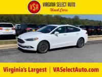Used 2018 Ford Fusion Titanium Sedan for sale in Amherst, VA