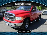 2003 Dodge Ram 1500 ST Short Bed 4WD