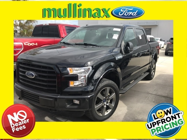 Photo Used 2016 Ford F-150 XLT W 5.0L V8, FX4 OFF Road, Twin Panel Moonroof Truck SuperCrew Cab V-8 cyl in Kissimmee, FL