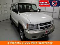 Used 2000 Isuzu Trooper For Sale at Duncan's Hokie Honda | VIN: JACDJ58X5Y7J15501