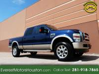 2008 Ford F-250 SD KING RANCH CREW CAB SHORT BED 4WD GASOLINE