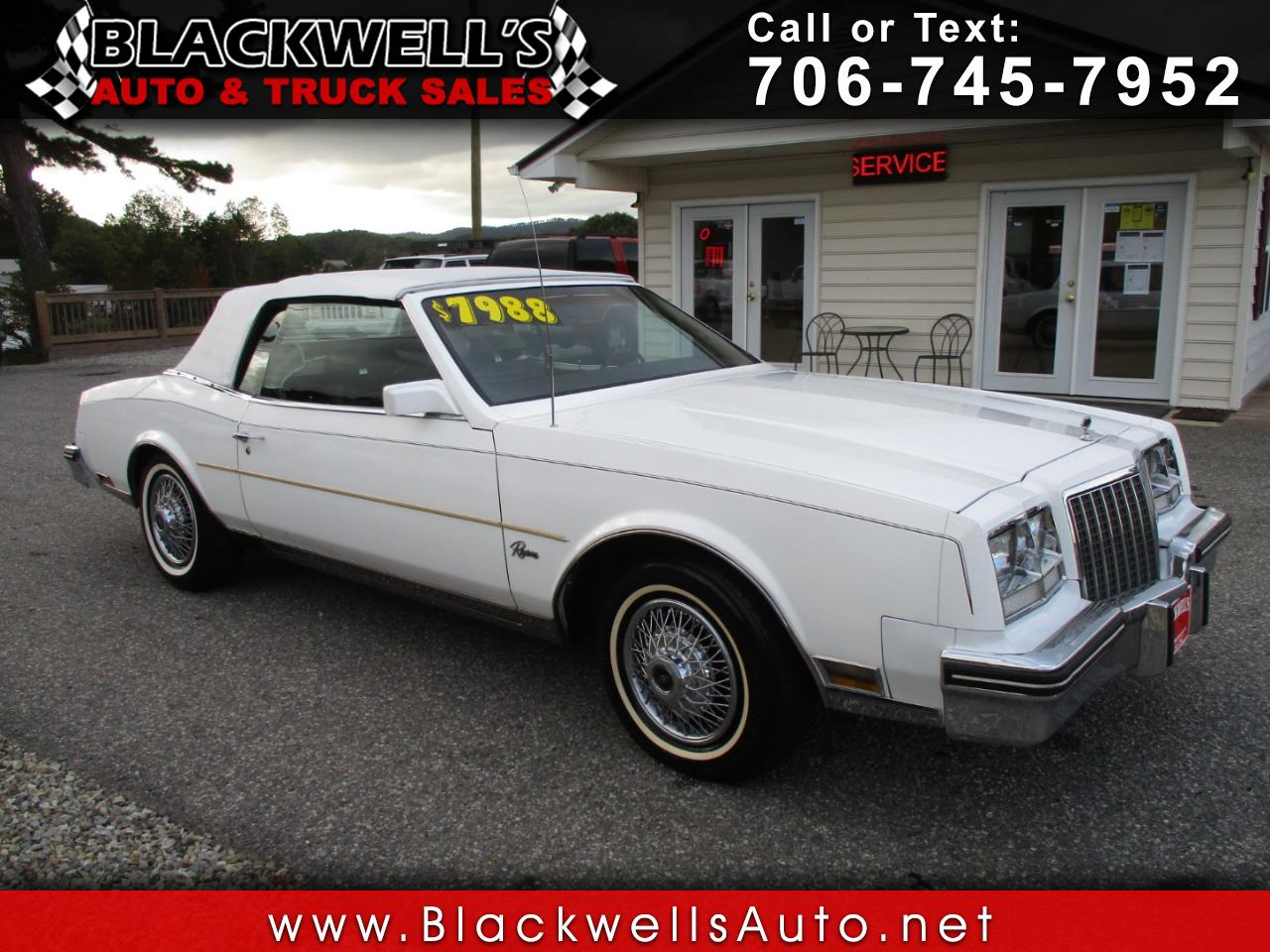 Photo 1981 Buick Riviera CONVERTIBLE