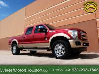 2013 Ford F-250 SD KING RANCH CREW CAB SHORT BED 4WD DIESEL