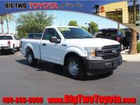 Used 2018 Ford F-150 XL 4x2 XL Regular Cab 6.5 ft. SB in Chandler, Serving the Phoenix Metro Area