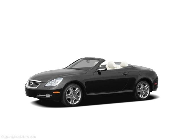 Photo Pre-Owned 2010 LEXUS SC 430 Base Convertible in Greenville SC