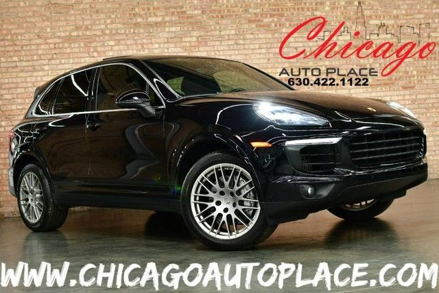 Photo 2016 Porsche Cayenne S - 3.6L TWIN-TURBO V6 ENGINE 1 OWNER ALL WHEEL DRIVE NAVIGATION BACKUP CAMERA BLACK LEATHER HEATEDCOOLED SEATS BOSE AUDIO XENONS