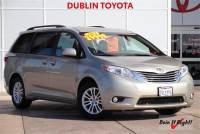 Certified Pre-Owned 2017 Toyota Sienna XLE Minivan/Van in Dublin, CA
