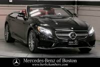 2017 Mercedes-Benz S-Class S 550 Cabriolet in Boston