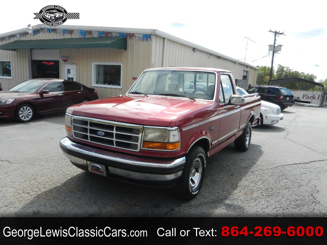 Photo 1995 Ford F-150 Special Reg. Cab Short Bed 2WD