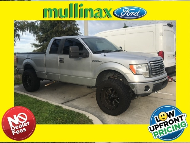 Photo Used 2010 Ford F-150 XLT Lifted W 20 Premium Wheels AND OFF-Road Tires Truck Super Cab V-8 cyl in Kissimmee, FL