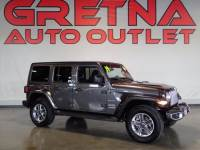 2019 Jeep Wrangler Unlimited 4x4 Sahara 4dr SUV