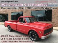 Used 1971 Chevrolet C-10 Custom Built RestoMod For Sale at Paul Sevag Motors, Inc. | VIN: CE141B63957200000
