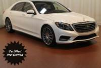 Certified Pre-Owned 2017 Mercedes-Benz S-Class S 550 in Fort Myers