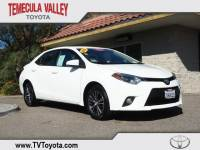2016 Toyota Corolla LE Plus Sedan Front-wheel Drive