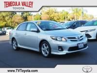 2012 Toyota Corolla Sedan Front-wheel Drive in Temecula