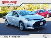 2018 Toyota Corolla LE Sedan Front-wheel Drive