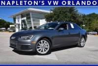 Used 2017 Audi A4 2.0T Premium in Orlando, Fl.