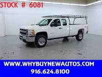 2012 Chevrolet Silverado 3500HD ~ 4x4 ~ Extended Cab ~ Only 66K Miles!