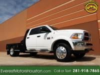 2011 Dodge Ram 4500 SLT CREW CAB LWB FLAT BED 2WD DIESEL